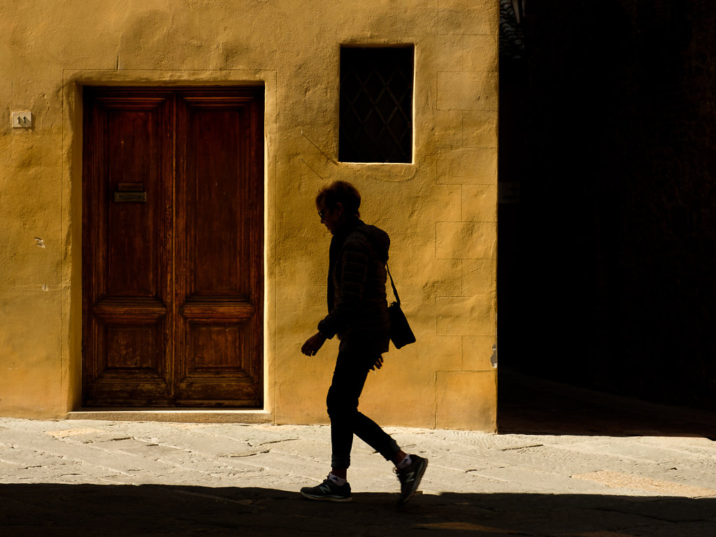 Light and Shadow, Pienza, Italy